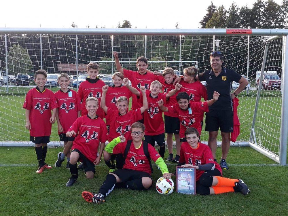D Jugend – Sparkassenpokal:  Finale verloren – trotzdem SIEGER