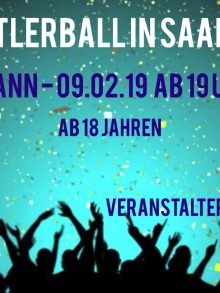 Einladung zum BSC-Faschingsball